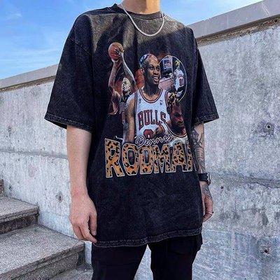 【Result】Rodman羅德曼水洗仿舊TEE 傳奇球星 hiphop