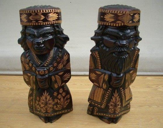 花見小路300... 北海道  依奴族   守護神 高約50cm木彫