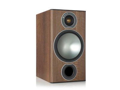 名展音響 英國Monitor Audio 銅Bronze 2 書架型喇叭/對 桃園專賣店
