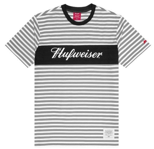 (安心胖) HUF x BUDWEISER WEISER KNIT TOP 2XL