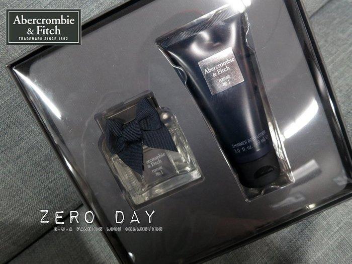 A&F Abercrombie&Fitch Perfume No. 1 Gift Set超香水乳液禮盒划算組合聖誕節禮物