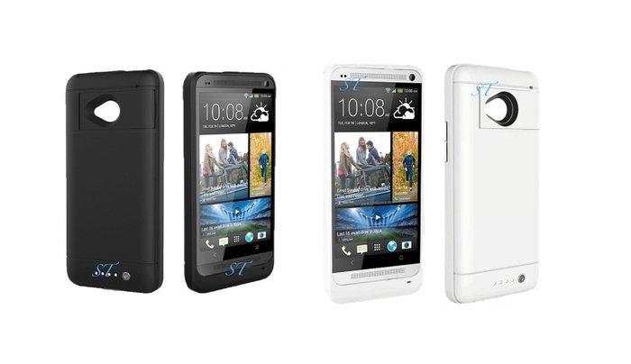 ☆ 福利品 ☆ HTC One m7 背蓋/手機殻/背夾/保護殼/皮套 3合1/4合1功能