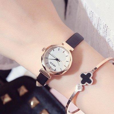 現貨/手錶女學生韓版簡約時尚潮流休閒百搭小清新細皮帶防水石英錶/海淘吧F56LO 促銷價