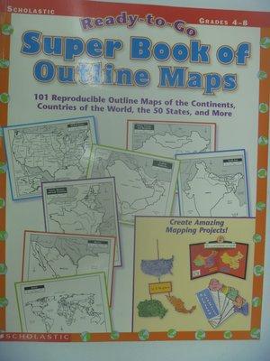 【月界】Ready-To-Go Super Book of Outline Maps_原價523 〖少年童書〗CER