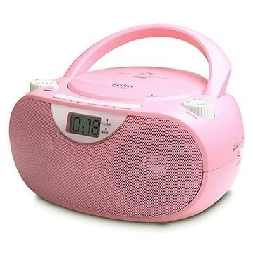 【免運費】歌林手提CD/MP3音響 KCD-WDC10M