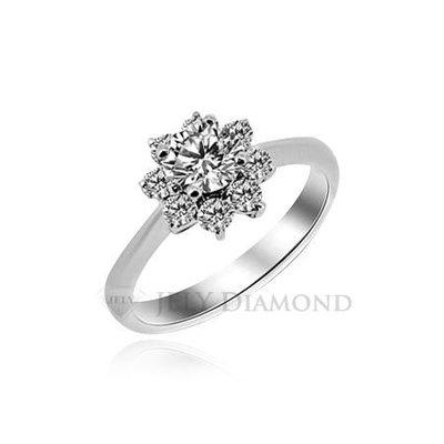《JELY時尚館》【JELY Diamond】Alluring---GIA/F/VS2/3EX/30分鑽石戒指 §會員終生獨享回收交換優惠§