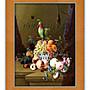 四方名畫: 浪漫古典花卉084 名家複製畫  含...