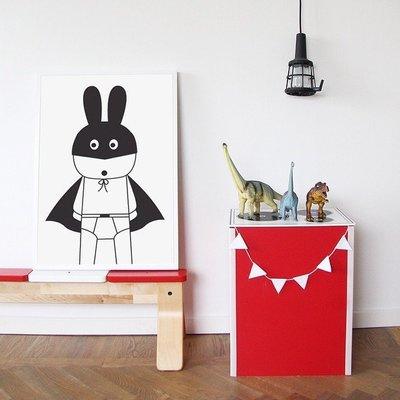 Sis 歐美 框畫 兒童房 掛畫 裝飾 簡約 時尚 嬰兒房 室內設計 IKEA 家飾品 (53*73公分)