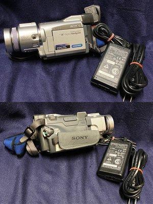 Sony D6 數位攝影放映機 DCR-TRV60 日本製 螢幕無法正常顯示 零件機 故障機需維修處理