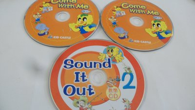 紫色小館-61-8-------COME WITH ME(教學CD1/2).SOUND IT OUT2教學CD