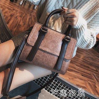 單肩包 手提包包女新款大容量韓版女包秋冬斜挎包簡約百搭單肩小方包