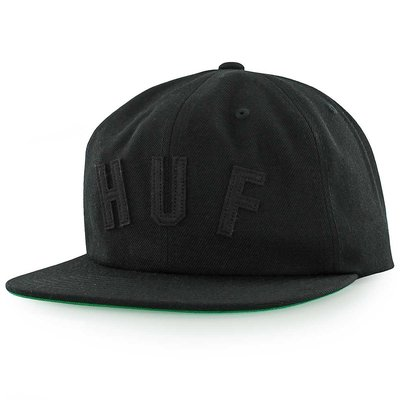 HUF - 黑色OG LOGO六片老帽-HBA PYREX GD AF SUPREME 單速車 滑板 HT51015 台北市