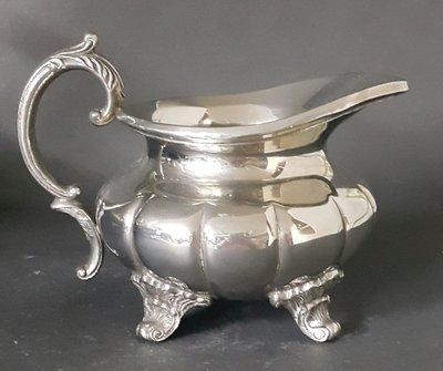 459 歐洲高級雕花鍍銀奶壺 Silver Plate milk  Bowl