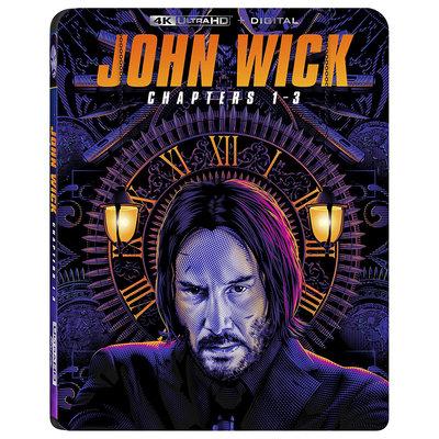 BD 全新美版【捍衛任務 1 2 3 合輯】【JOHN WICK 1-3】Blu-ray 4K藍光 UHD + BD