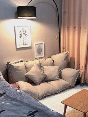 現貨!懶人沙發榻榻米摺疊沙發雙人日式多功能小戶型沙發椅臥室懶人沙發WY  ATF知木屋新品 正韓 折扣