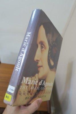 【英文舊書】[法國][傳記] Marie D'Agoult, Richard Bolster | Yale