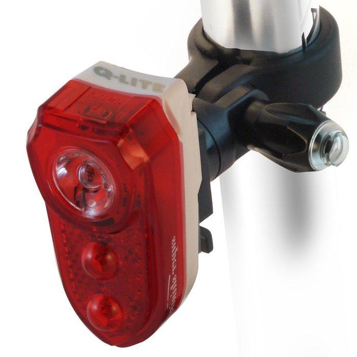 【繪繪】 Q-LITE 0.5W 3 LED超亮紅光警示尾燈 後燈 高功率聚光 尾燈 超亮尾燈