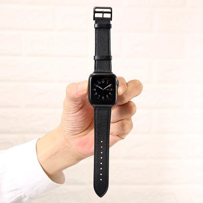 春品 適用apple watch5表帶愛馬真皮蘋果手表iwatch324代表帶38424044mm