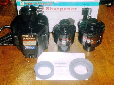 Drill Bit Sharpener 鑽頭研磨機 鑽尾研磨機 鑽尾磨銳機(台灣製造)STONYCRAFT