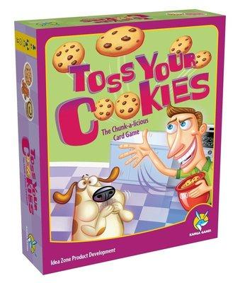 餅乾大戰 Toss Your Cookies 繁體中文版 高雄龐奇桌遊