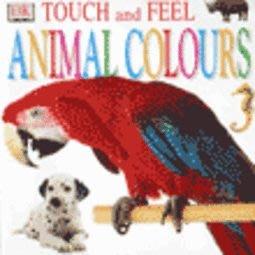 *小貝比的家*TOUCH & FEEL: ANIMAL COLOURS/硬頁