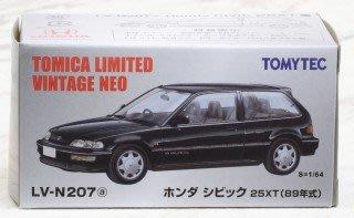 TOMYTEC 小車 LV-N207a 本田CIVIC 25XT 89年式 TV29017