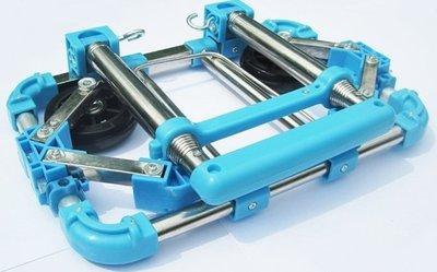 #6 2輪折疊車 便攜 鋁合金 家用 超市 行李車 手拉 買菜 拉杆 購物車 PU耐磨靜音輪