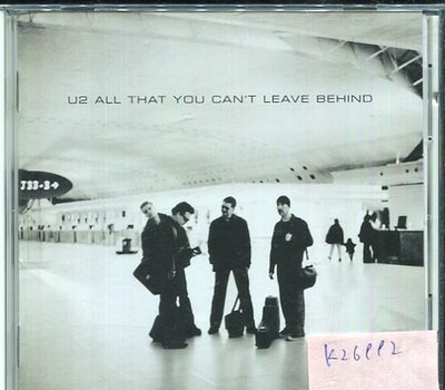 *真音樂* U2 / ALL THAT YOU CAN'T LEAVE BEHIND 日版 二手 K26992