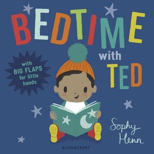 *小貝比的家*BED TIME WITH TED /硬頁/3~6歲/翻翻書