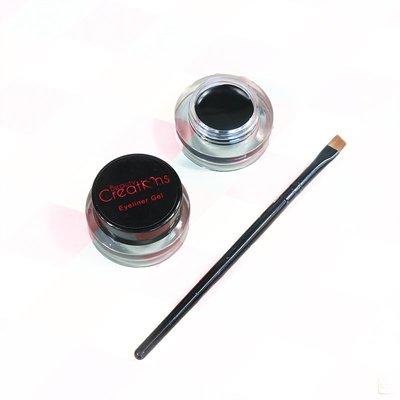 XXB西西比彩妝~【保稅BS】BEAUTY CREATIONS Gel Eyeliner 眼線膏帶刷 3.3g
