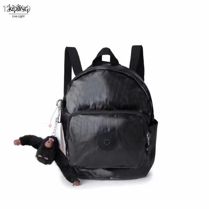 預購 Kipling 猴子包 K12673 金屬黑 迷你 MINI 斜背包 後背包 多用背包