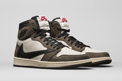 【C.M】Travis Scott x Jordan 1 Backwards Swoosh CD4487-100 倒勾