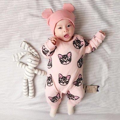 禧禧雜貨店 女嬰兒童連體衣服網紅寶寶新...