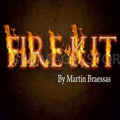[MAGIC 999]魔術道具 Fire Kit by Martin Braessas 新版火焰硬幣配件
