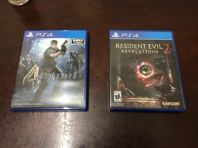 PS4 Biohazard 4 and Resident Evil Revelations 2
