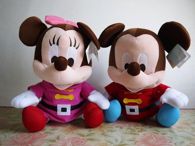 麥物堂珍藏公仔娃娃~全新『米奇米妮休閒裝款~中型款』*最佳禮物~降價了