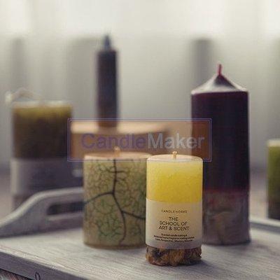 蠟燭材料包DIY 裂紋蠟燭寶石蠟原材料無斑無氣泡日本進口石蠟新品上市熱銷   全館免運