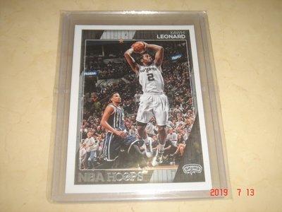 美國職籃 NBA  Spurs Kawhi Leonard 2016-2017 Panini Hoops #121球員卡