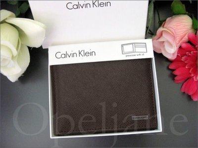 美國CK Calvin Klein卡文克萊真皮中夾短夾皮夾抽取式ID禮盒裝真品 免運費 愛Coach包包