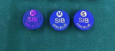 全新到貨 美國 SIB皮頭 撞球桿 藍色皮頭