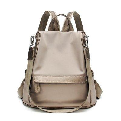 『SINGLE』【MO149-3567】韓 防盜雙肩包 大容量牛津布 背包 休閒旅行包 後背包