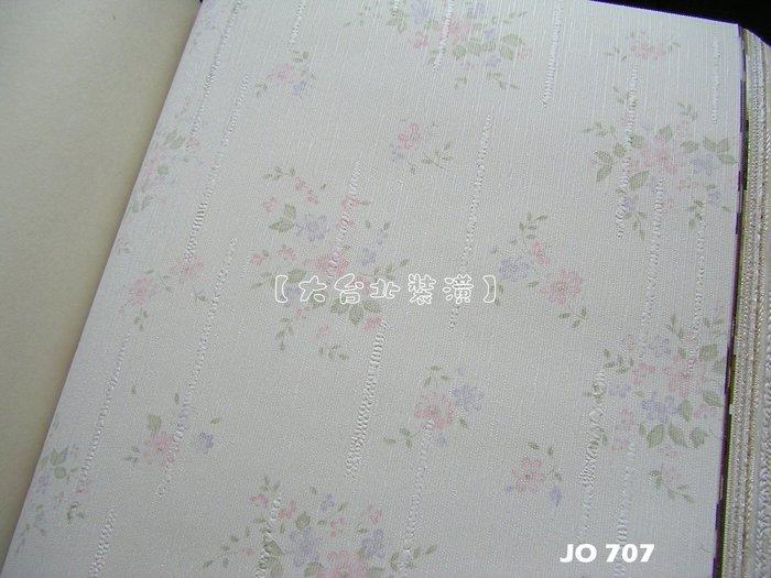 【大台北裝潢】JO國產現貨壁紙* 鄉村風輕柔花朵 每支360元