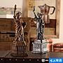 全館免運  美式復古自由女神像建筑物裝飾品...