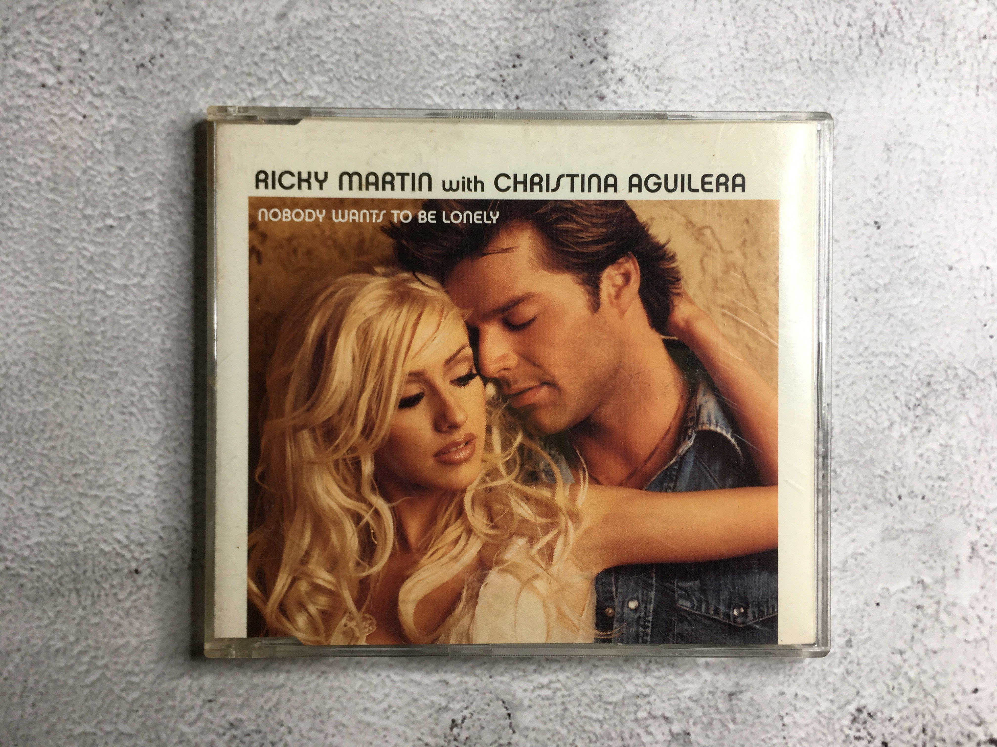 【二手CD】 克莉絲汀+ 瑞奇馬汀 - Nobody wants to be lonely
