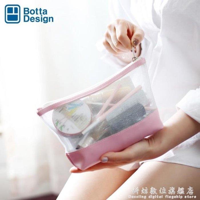 化妝包網紅ins風超火小號女便攜隨身品收納包簡約手拿袋KXSW25697