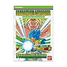 DRAGON BALL CARDDASS PREMIUM EDITION DRAGON BALL SUPER BROLY episode set 閃咭 閃卡