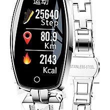 Sante IP67 防水彩屏即時心率監控智能手錶 T8H 銀色 (順豐包郵)