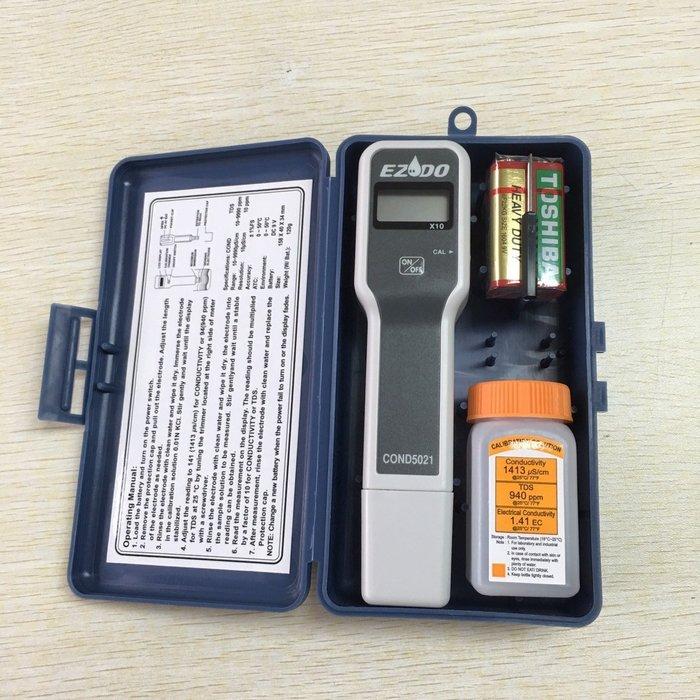 TECPEL 泰菱  》COND 5021 電導度計 台製 uS/cm 電導 另有  PH  TDS  ORP mV 氧化還原