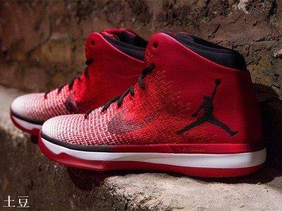 """(土豆)NIKE Jordan 31 XXXI """"Chicago"""" AJ31 芝加哥 白紅 籃球跑步鞋 845037-600"""