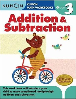 公文式 Kumon math Addition & Subtraction G3